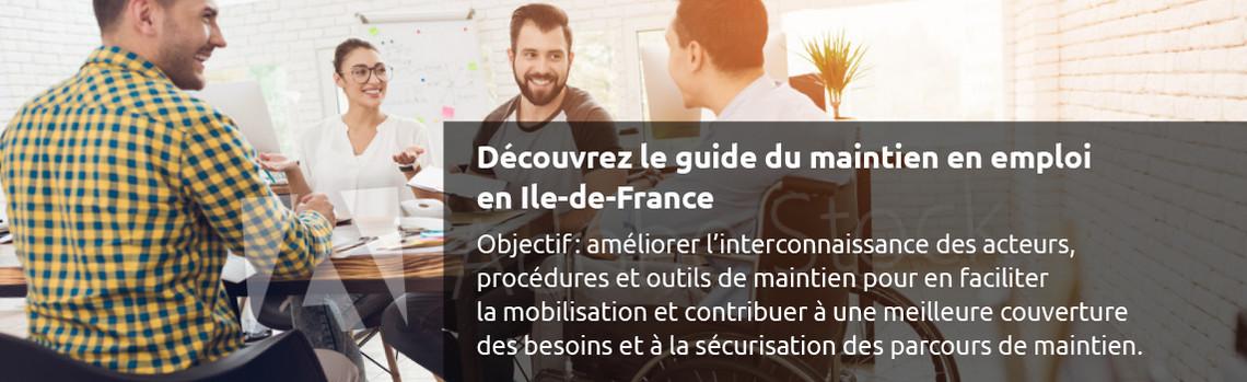 Guide du maintien en emploi en Ile-de-France