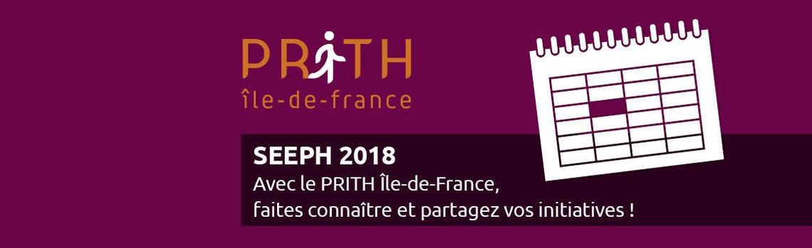 Evènement PRITH IDF SEEPH 2018