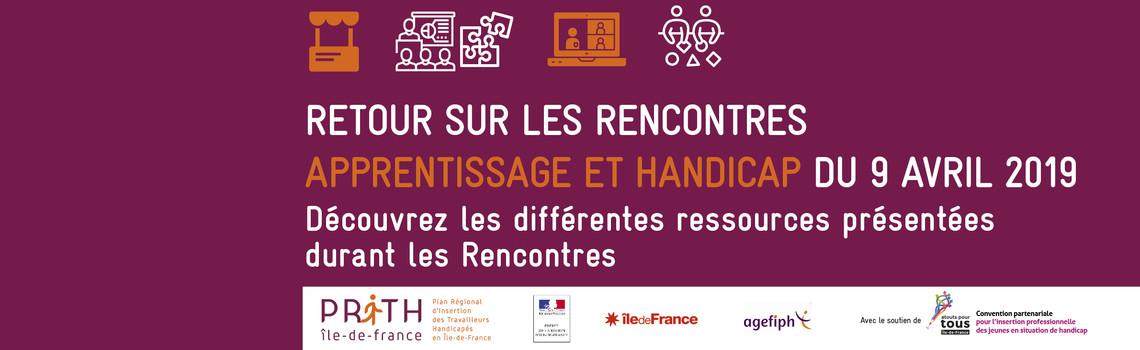 Rencontres Apprentissage et Handicap 090419 REX