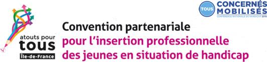"""La convention """"Atouts pour tous"""" est labellisée """"Tous concernés, tous mobilisés"""""""