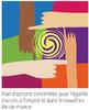 logo Plan d'actions concertées pour l'égalité d'accès à l'emploi et dans le travail en Île-de-France