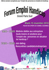 Programme Forum Emploi Handicap Grand Paris Sud