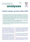DARES Analyses - Accès emploi TH en 2015 - Mai 2017