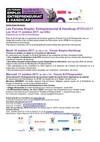 CP Forums Emploi, Entrepreneuriat et Handicap - Les 10 et 11 octobre 2017