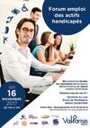 Flyer Forum emploi actifs handicapés 16 novembre 2017 - CA Val Parisis