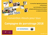 Documents parrainage Atouts pour tous - Entreprises, universités, lycées