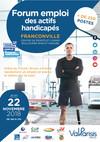 Forum emploi actifs handicapés -22/11/18 Franconville